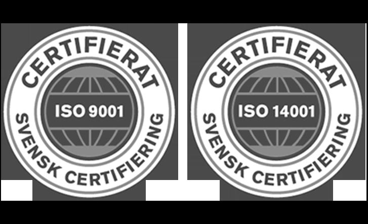 Swede Energy certifiering ISO_9001_14001_45001