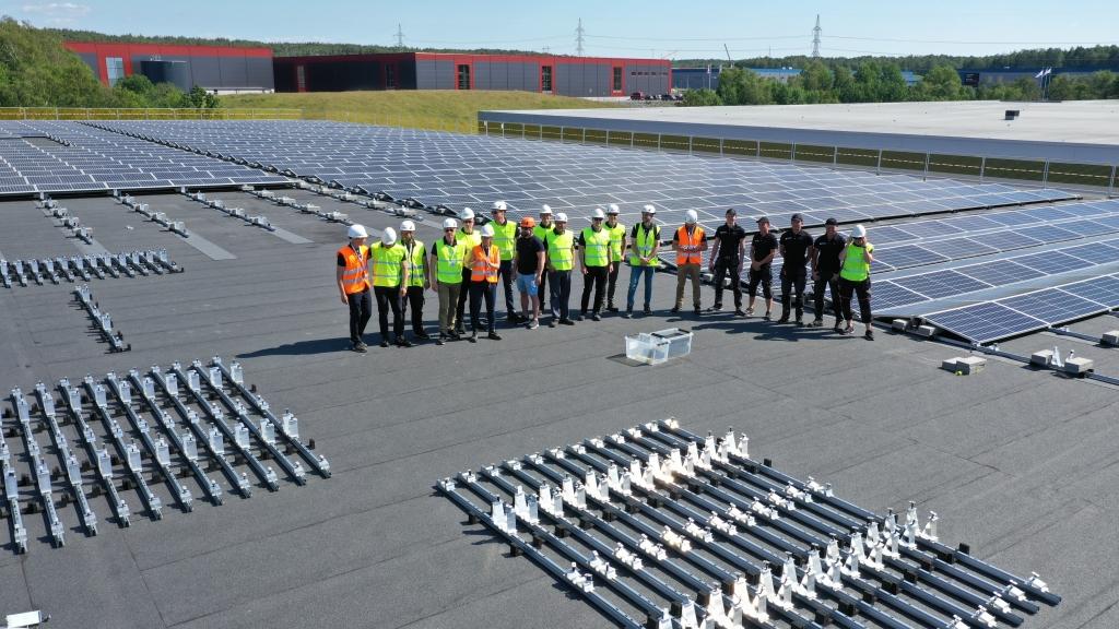 soltech Swede energy på tak