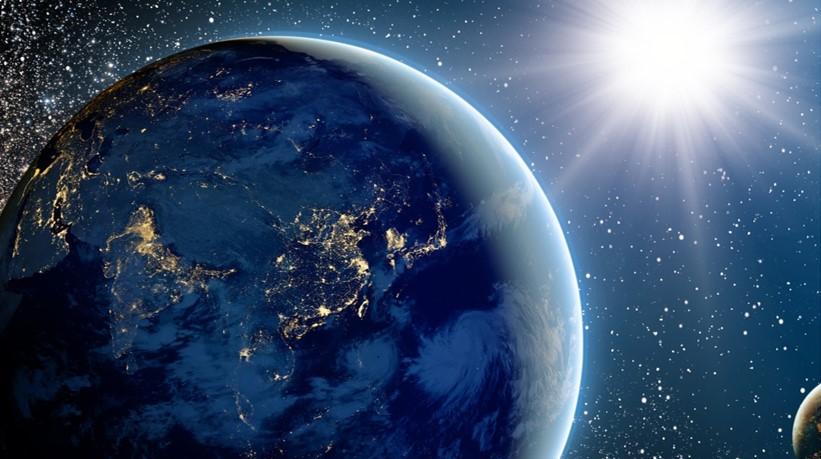 jorden och solen